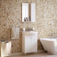 Комплект мебели для ванной комнаты COROZO Орфей 55