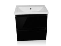 Комплект мебели Style Line Даймонд 70 Люкс Plus черная