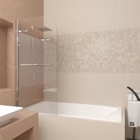 Шторка в ванну Veconi PL80-90-01-19C1