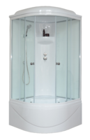Душевая кабина 100 см. Royal Bath RB100BK6-WT