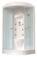 Душевая кабина 90х90 Royal Bath RB90HK7-WT