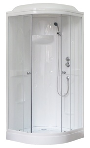 Душевая кабина 90х90 Royal Bath RB 90HK1-T-СН