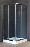 Душевой уголок 80х80 Royal Bath RB-L3002 800*800*1850