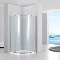 Душевой уголок 100 см. BLACK&WHITE S301-1000