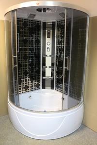 Душевая угловая кабина с ванной PARLY SP118