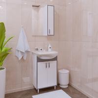 Комплект мебели для ванной комнаты Stella Polar Спектр 50 серая