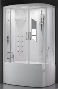 Душевая прямоугольная кабина с ванной SSWW BU103B