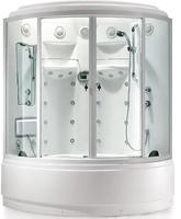 Душевая угловая кабина с ванной SSWW  BU110