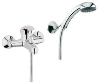 Смеситель в ванную Смеситель для ванны Webert Sax SX850101015 Хром