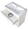 Комплект мебели Style Line Атлантика 80 Люкс Plus бетон крем