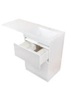 Комплект мебели Style line Даллас 115 Люкс белая PLUS
