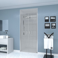 Душевая дверь Veconi VN44-120-01-19C1