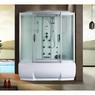 Душевая прямоугольная кабина с ванной RIVER WISLA 170/80/50 MT