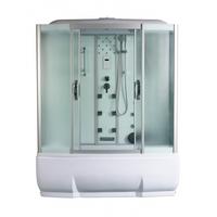 Душевая прямоугольная кабина с ванной RIVER WISLA 150/80/50 МТ