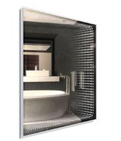 Зеркало в ванную комнату  Dubiel Vitrum Венеция 100х75