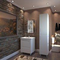 Комплект мебели для ванной комнаты АКВА РОДОС РОМА 65