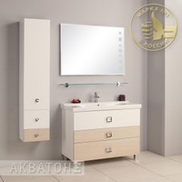 Комплект мебели Акватон Стамбул 105 сосна ларедо
