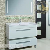 Комплект мебели Акватон Мадрид 120 белый