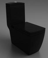Унитаз напольный Style Lux 050 черный