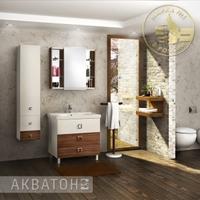 Комплект мебели Акватон Стамбул 85 эбони темный