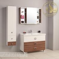 Комплект мебели Акватон Стамбул 105 эбони темный