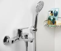 Смеситель в ванную WasserKRAFT Lippe 4501 с коротким изливом
