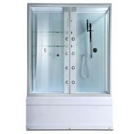 Душевая кабина с ванной ERLIT Sydney SYD170W-1