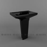 Раковина ARCUS  G 330 black (черный)