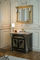 Комплект мебели Аллигатор Classic 90Е (цвет-черный с золотой патиной)