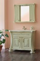 Комплект мебели Аллигатор Classic 100В (цвет 1015) зеркало со шкафчиками