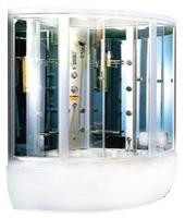 Душевая угловая кабина с ванной Appollo GUCI-856 БЕЛАЯ