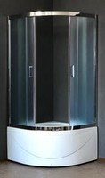 Душевой уголок 100 см. Royal Bath RB 100ВK-T-CH