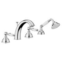 Смеситель в ванную Webert Alexandra AL730101015 Хром/кристаллы Swarovski