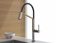 Смеситель для кухни Webert Kitchen Oblique Pro OB920602015 Хром/черный