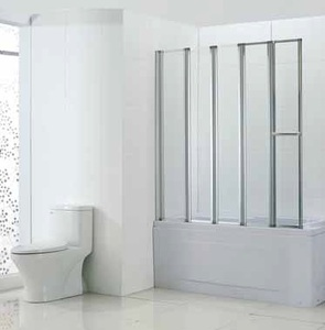 Шторка в ванну Bandhours Inox 140