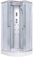 Душевая кабина для дачи Душевая кабина 100 см. AQUALUX AQ-41700GM (Wh) IDRO 100