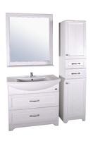 Комплект мебели ASB Woodline Берта 85 белый