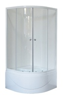 Душевой уголок 100 см. Royal Bath RB 100BК-Т
