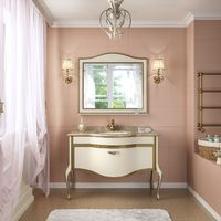 Комплект мебели TIMO Ellen Plus 120 M-V1 9001 gold
