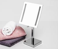 Зеркало в ванную комнату WasserKRAFT K-1007 с LED-подсветкой, 3-х кратным увеличением