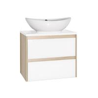 Комплект мебели для ванной комнаты Style line Монако 60 Ориноко/бел лакобель PLUS подвесная