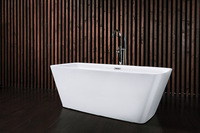 Ванна акриловая NT Bathroom NT03 LAGO ALBANO