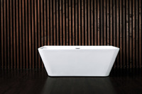 Ванна акриловая NT Bathroom NT103 LAGO DI ALLEGHE