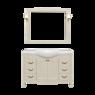 Комплект мебели DiHome Сильвия 120 слоновая кость из массива ясеня
