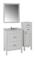 Комплект мебели ASB Woodline Римини Nuovo-80 белый (Массив ясеня)