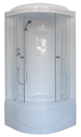 Душевая кабина 90х90 Royal Bath RB 90BK1-T