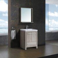 Комплект мебели для ванной комнаты BLACK&WHITE SK-060