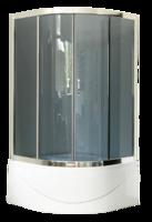 Душевой уголок 100 см. Royal Bath RB100BK-G